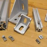 4040 Extrusion + Parts Alongisde 2020 Extrusion + Parts