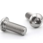 BOSSHEBUM5X08 Bolt Screw M5x8mm Hex Button head