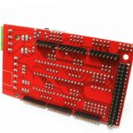 CIR.ARD.MEGA.SH.RA.O1 Ramps V1.4 3D Printer Shield for Arduino Mega 2560 under side