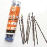 TO.TD.HSS.010.X10 Generic HSS Twist drills set of 10 1.0mm